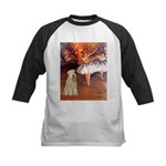 Dancer1/Wheaten T (7) Kids Baseball Jersey