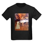 Dancer1/Wheaten T (7) Kids Dark T-Shirt