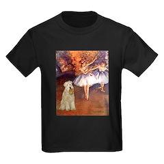 Dancer1/Wheaten T (7) Kids Dark T-Shirt