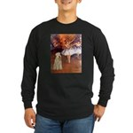 Dancer1/Wheaten T (7) Long Sleeve Dark T-Shirt