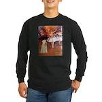 Dancer1/Wheaten T (7) Long Sleeve Dark T-Shirt