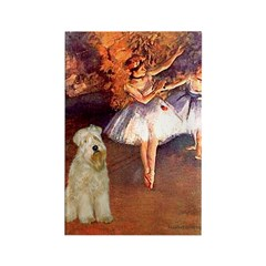 Dancer1/Wheaten T (7) Rectangle Magnet