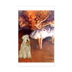 Dancer1/Wheaten T (7) Sticker (Rectangle)