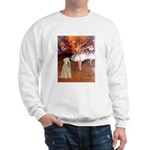 Dancer1/Wheaten T (7) Sweatshirt