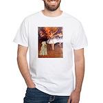 Dancer1/Wheaten T (7) White T-Shirt