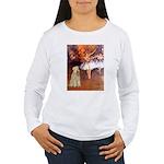 Dancer1/Wheaten T (7) Women's Long Sleeve T-Shirt