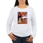 Dancer1/Wheaten T (7) Women's Long Sleeve T-Shirt