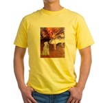 Dancer1/Wheaten T (7) Yellow T-Shirt