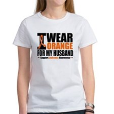 I Wear Orange For My Husband Tee