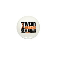 I Wear Orange For My Husband Mini Button (10 pack)