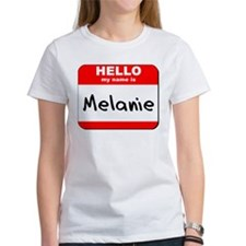 Hello my name is Melanie Tee