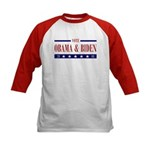 OBAMA BIDEN Kids Baseball Jersey