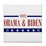 OBAMA BIDEN Tile Coaster