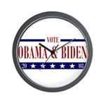 OBAMA BIDEN Wall Clock