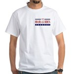 OBAMA BIDEN White T-Shirt