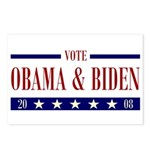 OBAMA BIDEN Postcards (Package of 8)