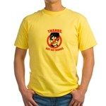 NO PALIN: Thanks but no thanks Yellow T-Shirt