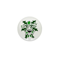 "Green Man 1"" Mini Button (10 pack)"