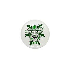 "Green Man 1"" Mini Button"