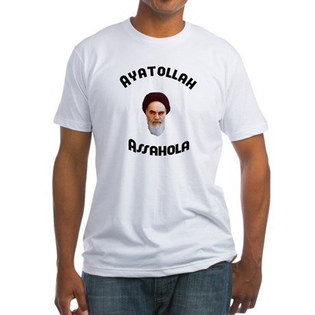 Ayatollah Assahola Fitted T-Shirt