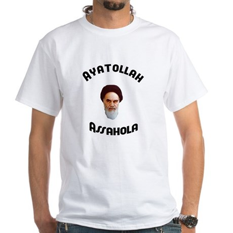Ayatollah Assahola White T-Shirt