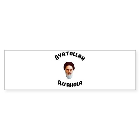 Ayatollah Assahola Bumper Sticker