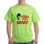 SOMEWHERE IN ALASKA / ANTI-PALIN Green T-Shirt