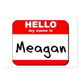 Hello my name is Meagan Postcards (Package of 8)