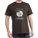 Moose against McCain/Palin Dark T-Shirt