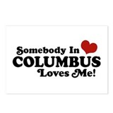 Somebody In Columbus Loves Me Postcards (Package o