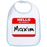 Hello my name is Maxim Bib