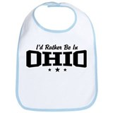 I'd Rather Be In Ohio Bib