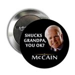"Grandpa, You Okay? McCain 2.25"" Button (10 pa"