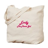 Emily - The Flower Girl Tote Bag