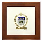 BREAU Family Crest Framed Tile