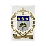 BREAU Family Crest Rectangle Magnet (10 pack)