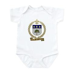 BREAUX Family Crest Infant Creeper