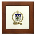 BRAULT Family Crest Framed Tile