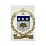 BRAULT Family Crest Rectangle Magnet