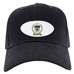 BRAUD Family Crest Black Cap