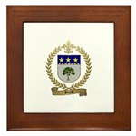 BRAUD Family Crest Framed Tile