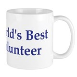 World's Best Volunteer Mug