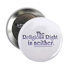 Religious Right is Neither Button