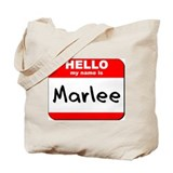 Hello my name is Marlee Tote Bag