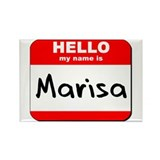 Hello my name is Marisa Rectangle Magnet (10 pack)