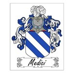 Medici Family Crest Small Poster