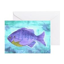 Fish - Greeting Card