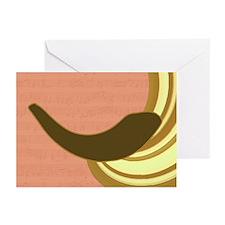 Shofar Swirl Greeting Cards (Pk of 20)