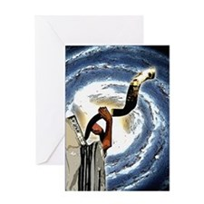 Shofar Galaxy Greeting Card