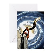 Shofar Galaxy Greeting Cards (Pk of 10)